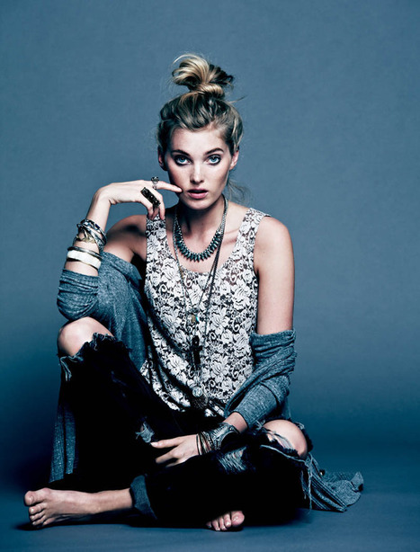 Free People Gets Dark for its March Lookbook Starring Elsa Hosk | TAFT: Trends And Fashion Timeline | Scoop.it