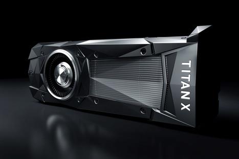 Nvidia lance une nouvelle Titan X, pensée pour l'intelligence artificielle - Sciences - Numerama | Post-Sapiens, les êtres technologiques | Scoop.it