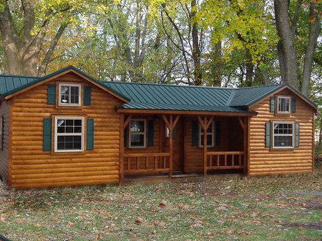 Cumberland Log Cabin Kit from $16,350 | Maisons éco | Scoop.it