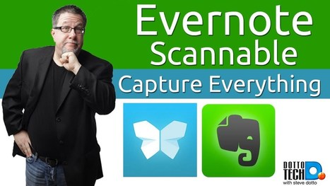 Evernote's Scannable: A Powerful, Simple Scanning App for iPhone or iPad | Tech Learning ~ by J. Robinson | In the Library and out in the world | Scoop.it