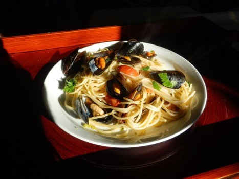 Spaghetti with mussels | Le Marche - land of Food and Wine! | Scoop.it