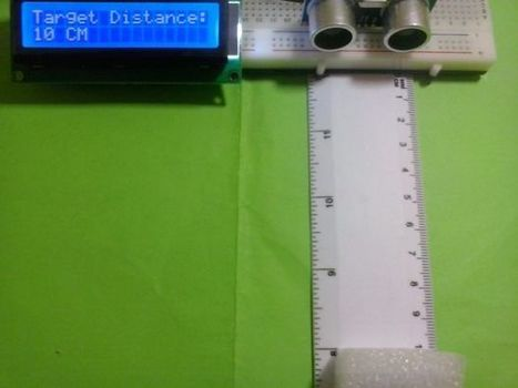 Arduino LCD Project for Measuring Distance | Raspberry Pi | Scoop.it