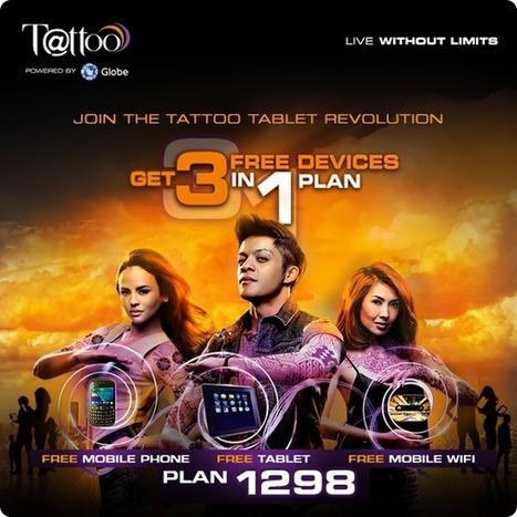 Get 3 Devices for FREE in 1 Globe Tattoo Plan  TechConnectPH   MyNewscoop   Scoop.it