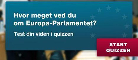 EU-OPLYSNINGEN.DK - Parlaments quiz | Europa-Parlamentet | Scoop.it