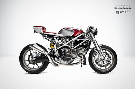 Ducati+749+by+South+Garage+Cafè+01.jpg (640x424 pixels) | Cafe Racer of Ohio | Scoop.it