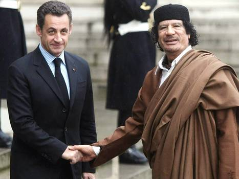 Nicolas #Sarkozy DID take $50 million of Muammar Gaddafi's cash, French judge is told | Saif al Islam | Scoop.it
