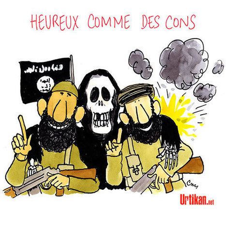 Bilan effroyable de 213 morts dans l'attentat revendiqué par Daesh à Bagdad | Dessinateurs de presse | Scoop.it
