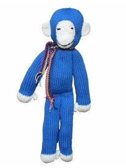 Fair-trade Organic Cotton Monkey