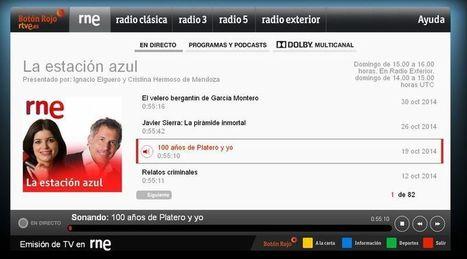 ¿Se puede escuchar la radio en la tele a través de internet? Sí, nace el Botón Rojo de Radio Nacional - Interactivos iRTVE | Radio 2.0 (Esp) | Scoop.it
