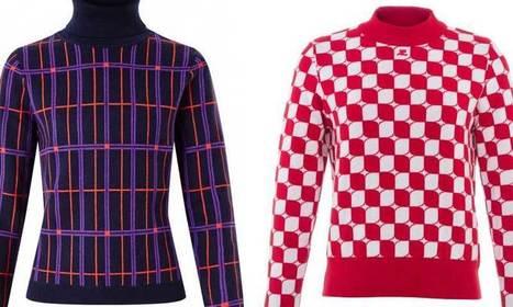 La maille prend des couleurs avec Carven et Courrèges - Les hauts de la Mode   leshautsdelamode   Scoop.it