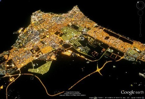 Viewing city lights in Google Earth | Google Earth Blog | #GoogleEarth | Scoop.it