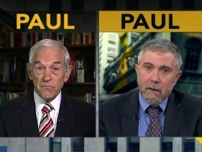 Ron Paul Just Went To Battle Against Paul Krugman—Here's What You Missed | POLITICS BY M | Scoop.it