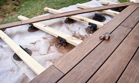 Faire une terrasse sur lambourdes   Travaux Extérieurs   Scoop.it
