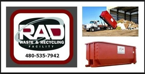Roll-Off Dumpster Rentals for Cities in Maricopa County AZ RAD | Dumpster Rentals | Scoop.it