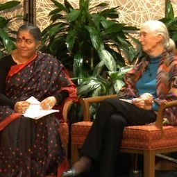 Vandana Shiva & Jane Goodall on Serving the Earth & How Women Can Address Climate Crisis | GMOs & FOOD, WATER & SOIL MATTERS | Scoop.it