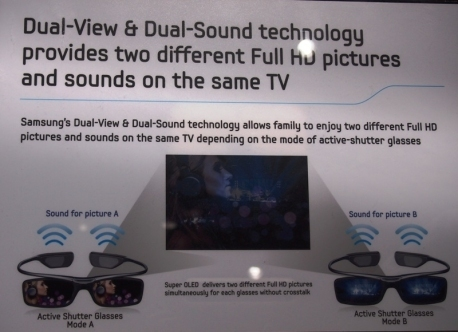 Samsung OLED TVs to show 2 programs at once | Video Breakthroughs | Scoop.it
