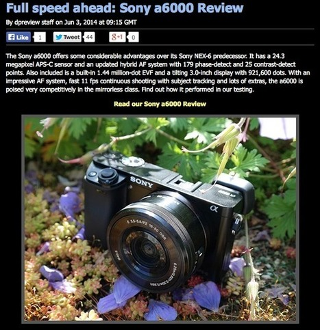 Dpreview review of Sony a6000 - Oh Dear. | SOUNDIMAGEPLUS | Sony A6000 | Scoop.it