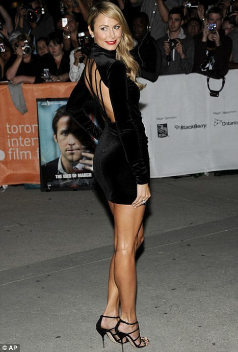Clooney's girlStacey Kiebler wows in figure-hugging dress | Lipstick Whisper | Scoop.it