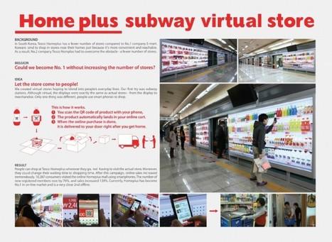 La grande distribution Coréenne booste ses ventes grâce aux QR Codes | Holytag : Code barres 2D et solutions marketing mobiles | Scoop.it
