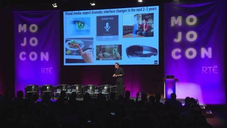 The future of mobile content and media: Futurist Keynote Speaker Gerd Leonhard MojoCon Dublin - YouTube | leapmind | Scoop.it
