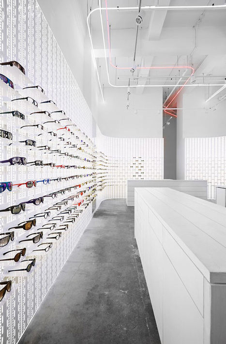 EYEWEAR STORES! Mykita eyewear shop, New York City » Retail ... | Retail Design | Scoop.it