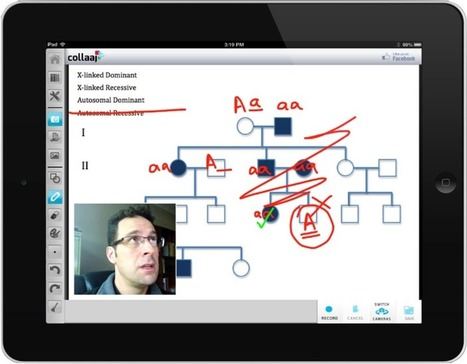 Collaaj for iPad - An Impressive New Screencasting App to Rival Explain Everything | iPad classroom | Scoop.it