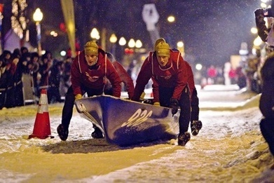 World view: Ice road truckers at the Québec Winter Carnival - The Guardian | Le canot à glace - Ice canoeing | Scoop.it