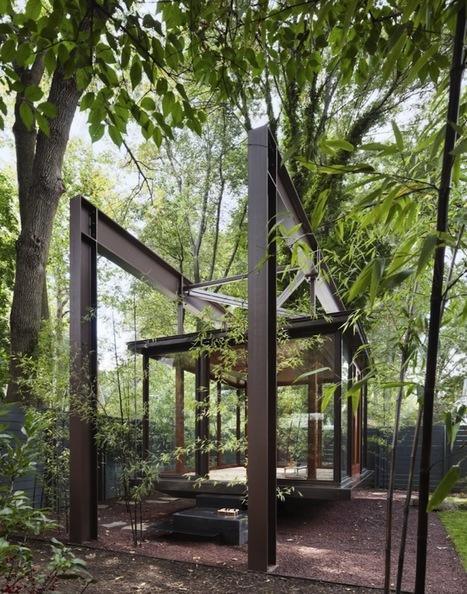 Floating Japanese Tea House - My Modern Metropolis | 建築 | Scoop.it