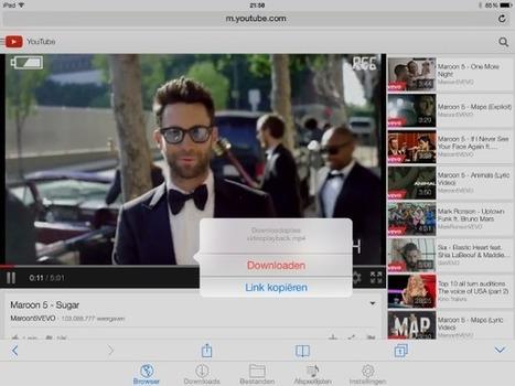 YouTube-video's downloaden naar je iPad - Computer Totaal | learn and teach | Scoop.it