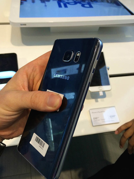 Galaxy Note 5 leak reveals device, retail packaging; Galaxy S6 Edge Plus shown off too via @j_hdeza | Samsung mobile | Scoop.it