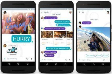 Allo la aplicación de mensajería de Google que tiene un asistente de Inteligencia Artificial   Ojo Android   Scoop.it