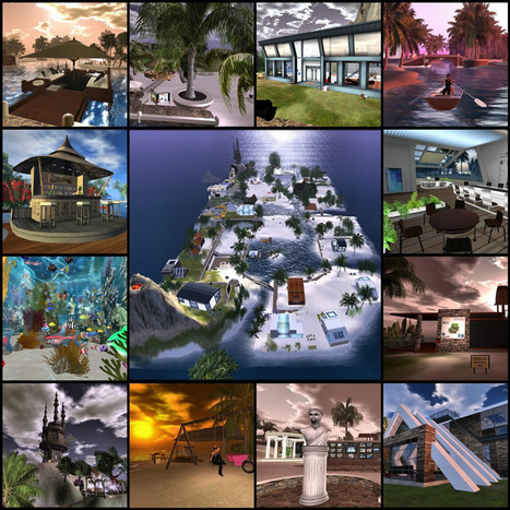 EduNation Islands | Virtual World Language Learning | Scoop.it