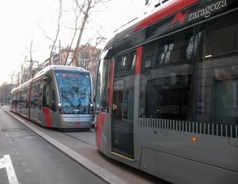 España El tranvía de Zaragoza ha aumentado el número de pasajeros un 35% en sus primeros días de circulación | Noticias-Ferroviarias Español | Scoop.it