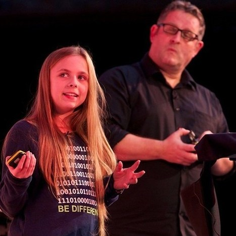 13-year-old Amy Mather on how she started coding with the Raspberry Pi | Wired Next Generation 2013 video | Regenerating IT | Scoop.it