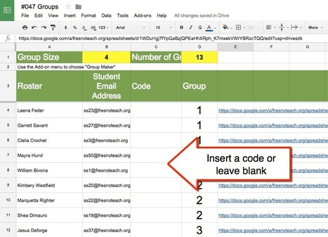 Google Classroom: Create Group Documents :: Alice Keeler | emerging learning | Scoop.it