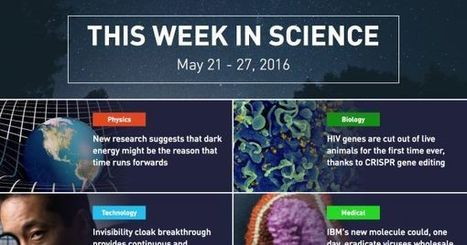 This Week in Science: May 21 - 27th, 2016 | iPads, MakerEd and More  in Education | Scoop.it
