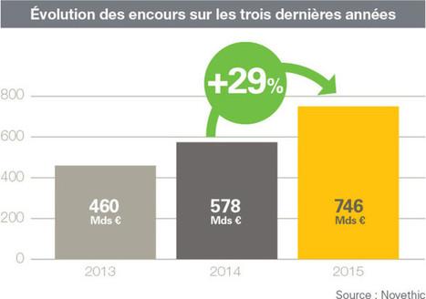 L'investissement Responsable continue à se développer en France | les échos du net | Scoop.it