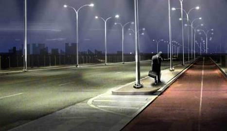 Clever? Smart Street Lamps Light Up Only When Needed | Sustainable Settlements | Scoop.it