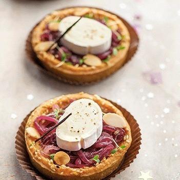 Tartelettes au confit d'oignon et fromage en-cas de Caprice - Qui veut du fromage | AOP | Scoop.it
