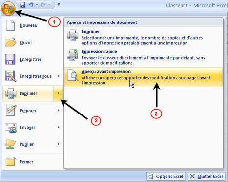 EXCEL 2007 - Guide niveau 1 | Alphabétisation informatique | Scoop.it