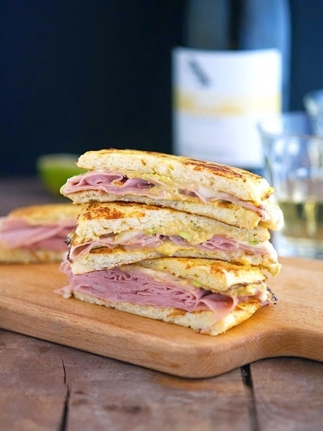 #HealthyRecipe : Cauliflower Crust Mortadella and Cheese Panini (Chopped Cooking Challenge) | The Man With The Golden Tongs Goes All Out On Health | Scoop.it