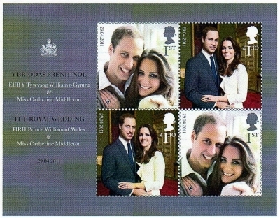 Free Wedding Books Mail on Royal Wedding 2011     Great Britain   Philately Books   The World Of
