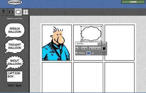 Chogger, crea cómics y tiras cómicas fácilmente   Roles de la Enfermeria   Scoop.it