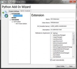 Custom wxPython GUI's: an approach for ArcGIS 10.1 | ArcGIS Resource Center | ArcPY - Python | Scoop.it