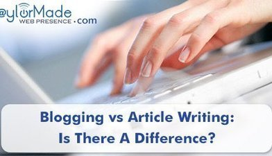 Blogging Vs Article Writing – Is There A Difference? | M-learning, E-Learning, and Technical Communications | Scoop.it
