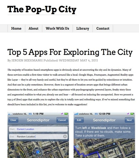 Top 5 smartphone Apps For Exploring The City | Art en Réseau | Scoop.it