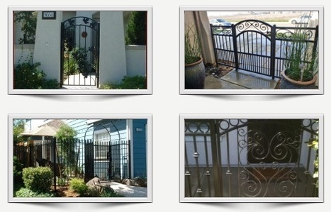 Iron Entry Gates – New Designs & High Quality | Ornamental Iron | Wrought iron fencing | Driveway gate | Scoop.it