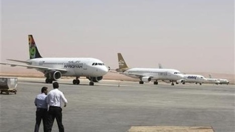 Libyan plane shot at as it lands at Tripoli | Global politics | Scoop.it