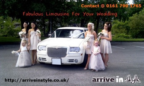 Fabulous Limousine For Your Wedding In Bolton   Arrive In Style   Scoop.it