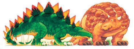 British Isles | ILLUSTRATION SERIES: Self-promotion, school visits and installations | Dinosaur Roar! | Scoop.it